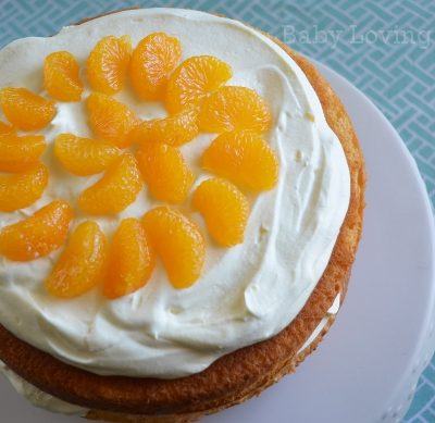 Pineapple Orange Spring Layer Cake Recipe to Celebrate Spring