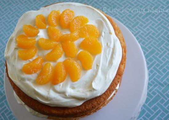 Pineapple Orange Spring Layer Cake 4