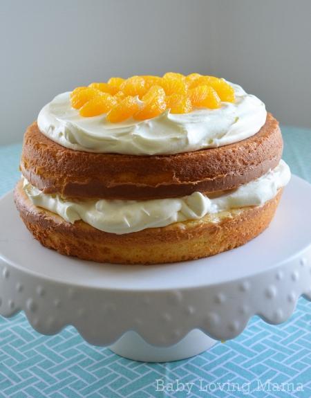 Pineapple Orange Spring Layer Cake 7