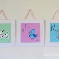 Personalized Children's Wall Art from Bee Happy Art {Review and Giveaway}