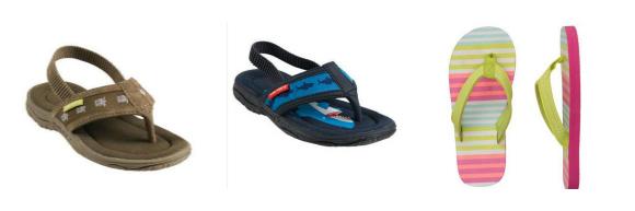 Carter's Flip Flops