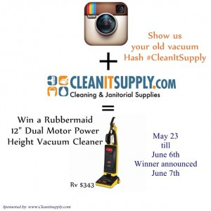 Clean it Supply Vacuum Giveaway