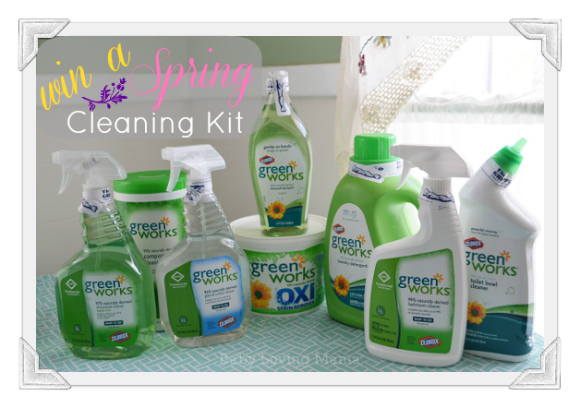 CleanItSupply Clorox Green Works Spring Cleaning Kit Giveaway