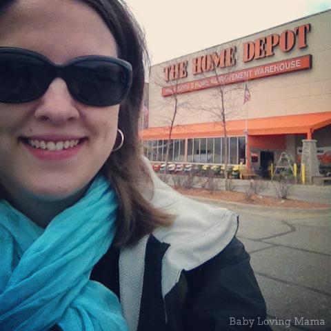 Home Depot Envirotile Shopping 1