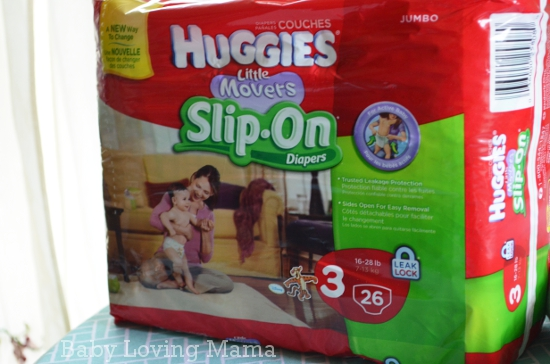 Huggies Little Movers SlipOn Diapers
