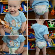 Huggies Little Movers Slip-On Diapers | Less Squirming During Changes #FirstFit