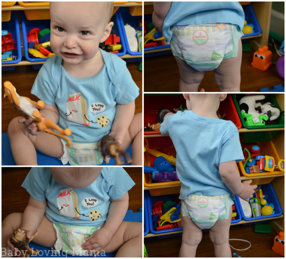 Huggies SlipOn Diapers First Fit