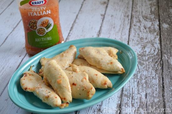 Kraft Zesty Italian Dressing Chicken Marinade 3