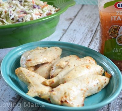 Let's Get Zesty with Kraft Zesty Italian Anything Dressing {Giveaway} #GetZesty