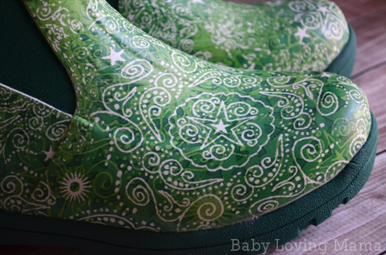 Muck Boot Company Breezy Mid Cool Green Print
