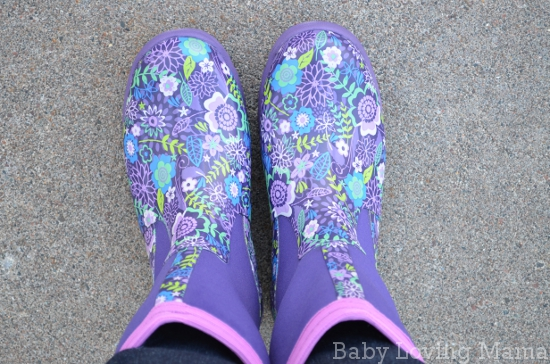 e9d4caf9048e Muck Boot Company Breezy Mid Cool Purple Print