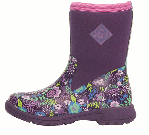 Muck Boot Company Breezy Mid Cool Purple