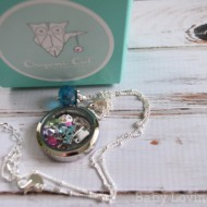 Origami Owl Living Locket Necklace: Personalized Keepsake {Review & Giveaway}