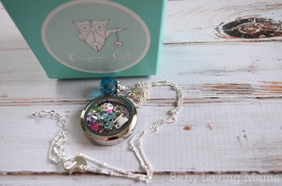 Origami Owl Living Locket Necklace Personalized Keepsake