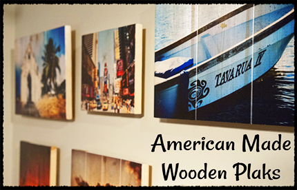 Plak That American Made Wooden Plaks