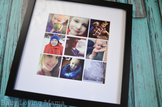Prinstagram Custom Framed Print 1