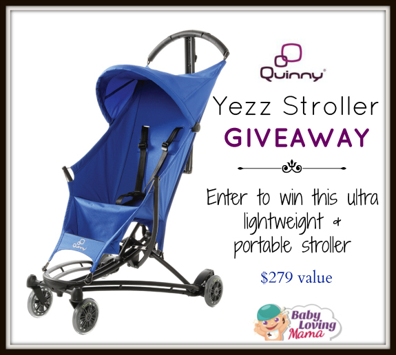 Quinny Yezz Stoller Giveaway