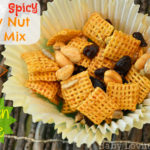 Sweet and Spicy Honey Nut Chex Mix | Gluten Free {Recipe}