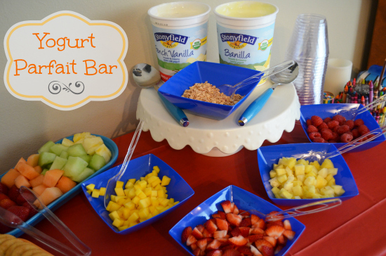 Yogurt Parfait Bar Bright Starts HAB Playdate Party