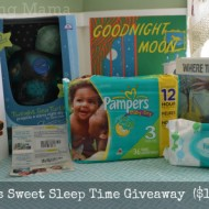 Pampers BabyDry Offers Sweet Sleep Time {Giveaway}