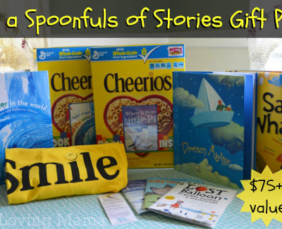 Cheerios Spoonfuls of Stories | New Author Contest {Giveaway}