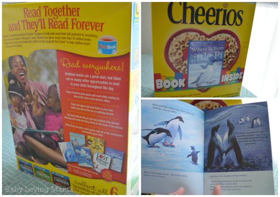 Cheerios Spoonfuls of Stories May 2013 Packaging