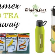 "Mighty Leaf Iced Tea Recipes | Say ""Goodbye"" to Bottles  {Giveaway}"