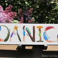"""NameArt """"DIY"""" Personalized Children's Gifts {Review and Giveaway}"""