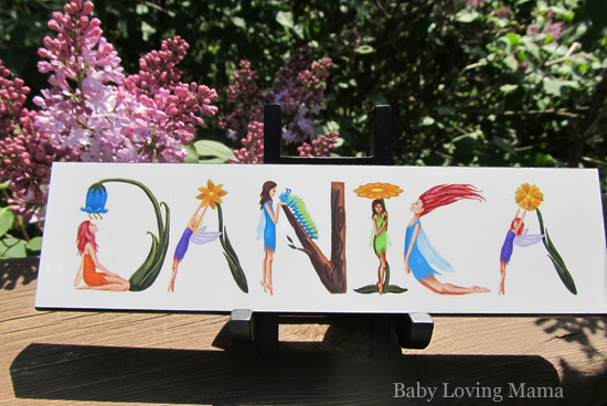 Nameart diy personalized childrens gifts review and giveaway our unique gift items make great baby name art and baby shower gifts birthday gifts for kids and name negle Choice Image