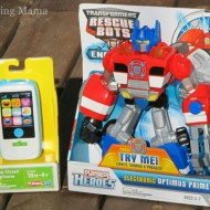 New Summer Products from Playskool: Transformer Rescue Bot and Sesame Street Smartphone {Review}