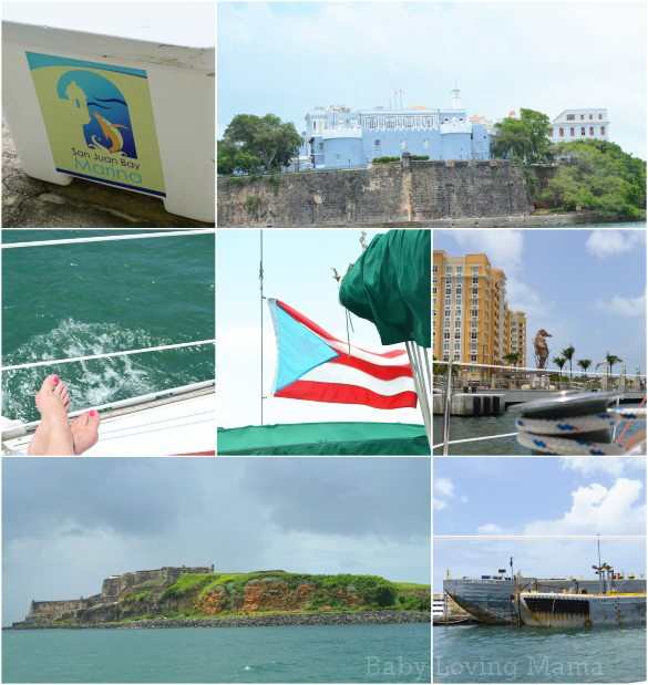 Puerto Rico San Juan Dreamed Daytime Sailing Tour Collage
