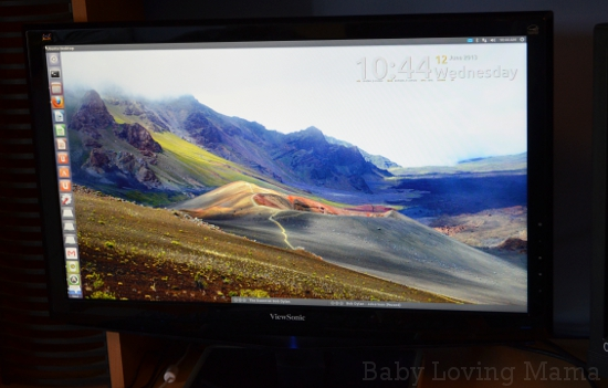 Staples ViewSonic LED Widescreen 24 inch Monitor