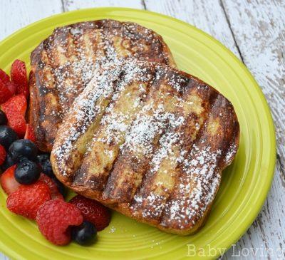 Cream Cheese Stuffed Cinnamon French Toast {Recipe}