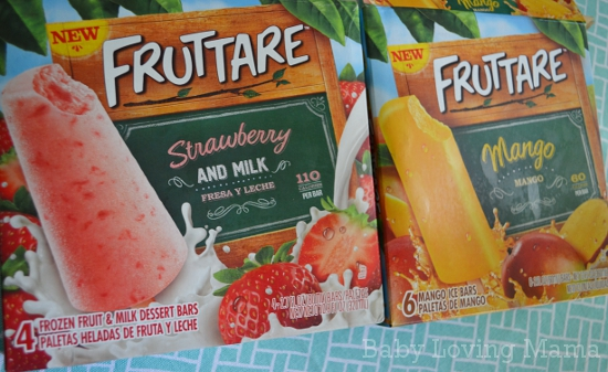 Fruttare Strawberry and Milk Mango Package