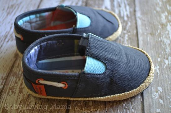 Mamas and Papas Nautical Canvas Shoes 1