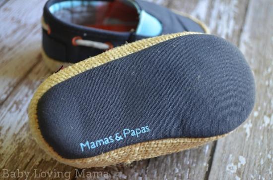 Mamas and Papas Nautical Canvas Shoes 2