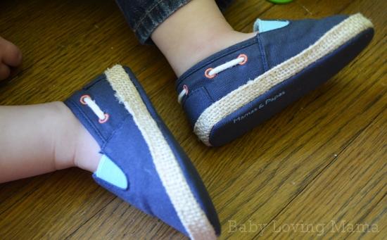 Mamas and Papas Nautical Canvas Shoes 3