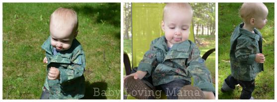Mamas and Papas Safari Jacket