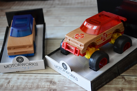 Motorworks Custom Wood Vehicle Toys