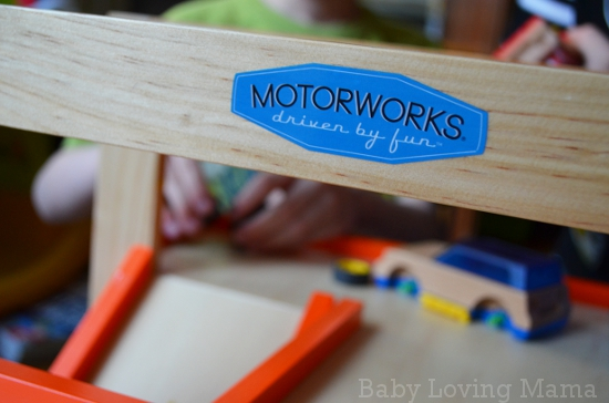 Motorworks Customizeable Wooden Toy vehicles and Garage 5