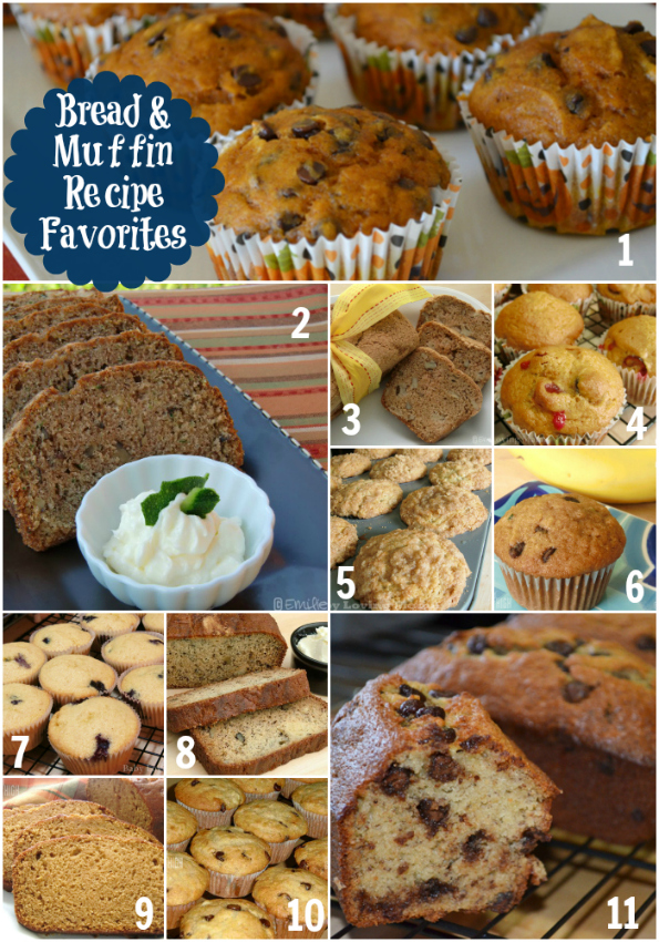 Muffins and Breakfast Breads | Favorite Recipes Roundup ...