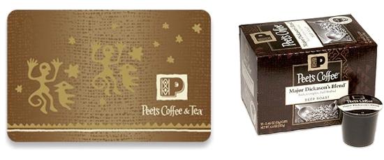 Peets Coffee Prizes
