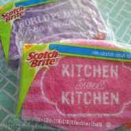 Scotch-Brite Cleaning Challenge: How Do You Get Your Clean On? {Giveaway}