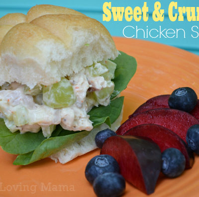 Sweet and Crunchy Chicken Salad Recipe