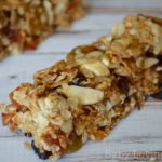 Take A Long Fruit and Oatmeal Bars {Recipe}  | Road Trip Snack Ideas
