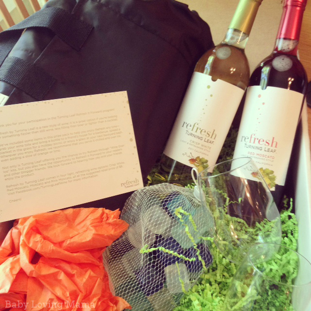 Turning Leaf Refresh Wine Over Ice Prize Package