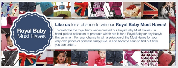 mamas and papas royal baby must haves facebook contest