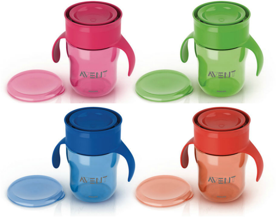 AVENT Natural Drinking Cup Four Colors