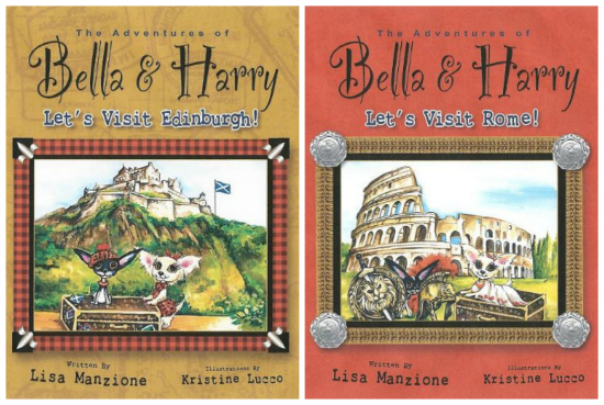 Adventures of Bella Harry Edinburgh Rome
