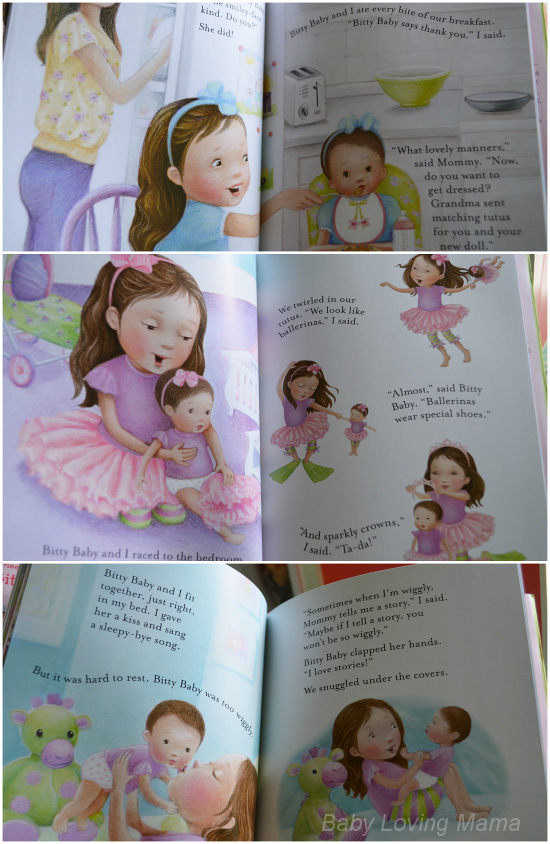 American Girl New Bitty Baby Collection Book